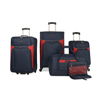 5-Pieces Nautica Oceanview Luggage Set