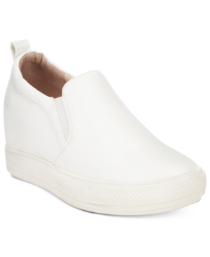 Wanted Pocono Slip-On Wedge Sneakers Women's Shoes