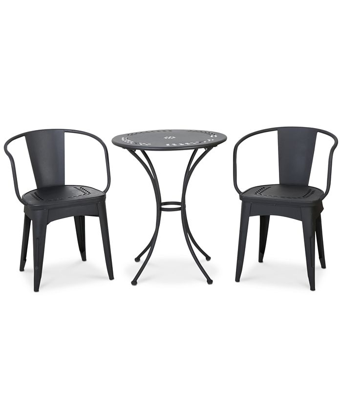 Noble House - Waltin 3-Pc Bistro Set, Direct Ship