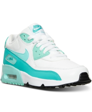 44ef27ea7090 UPC 885176175260 product image for Nike Girls  Air Max 90 Leather Running  Sneakers from Finish
