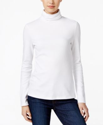 Image of Charter Club Turtleneck Top, Only at Macy's