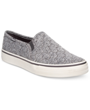 Keds Women's Double Decker Quilted Slip-On Sneakers Women's Shoes