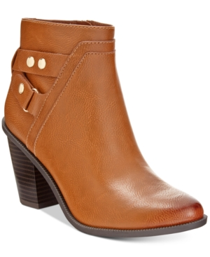 Bar Iii Dove Block-Heel Booties, Only at Macy's Women's Shoes