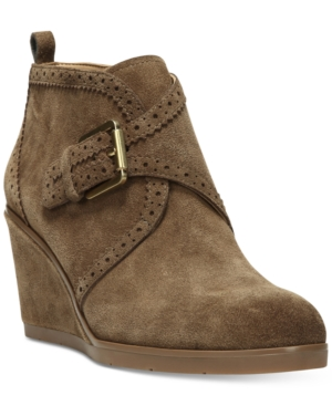 Franco Sarto Arielle Wedge Booties Women's Shoes