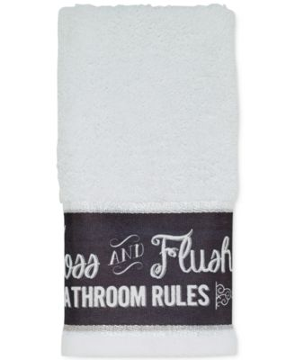 Avanti Chalk It Up Fingertip Towel