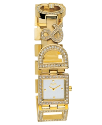 D&G Watch, Women's Night & Day Goldtone Bracelet 3729250329