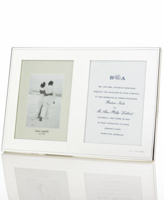 kate spade new york Darling Point Double Invitation Frame