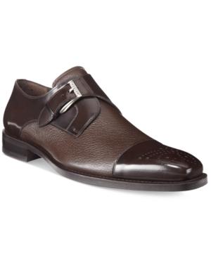 Mezlan Men's Phoenix Mm Single Monk Cap-Toe Oxfords Men's Shoes