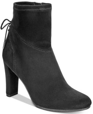 Circus by Sam Edelman Janet Block-Heel Sock Booties Women's Shoes