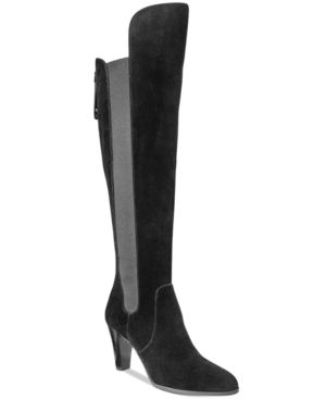 Adrienne Vittadini Tex Over-The-Knee Boots Women's Shoes