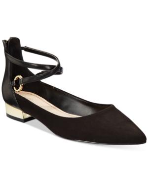Aldo Women's Biacci Ankle-Strap Flats