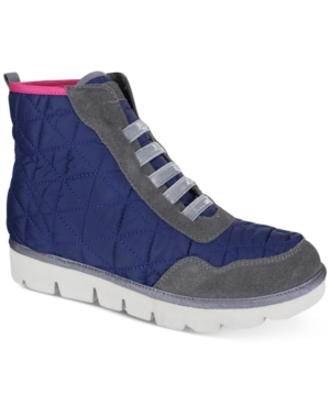 Mia Terran High-Top Lace-Up Sneakers Women's Shoes
