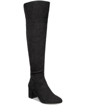 Inc International Concepts Roann Over-The-Knee Boots, Only at Macy's Women's Shoes