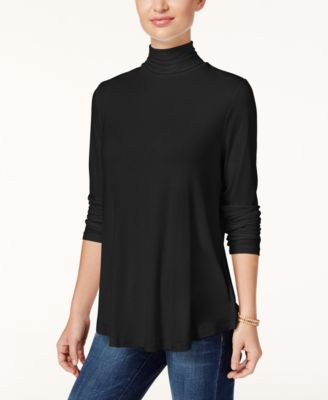 Image of JM Collection Turtleneck Top, Only at Macy's