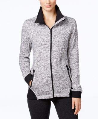 Image of Calvin Klein Performance Sweater Fleece Jacket