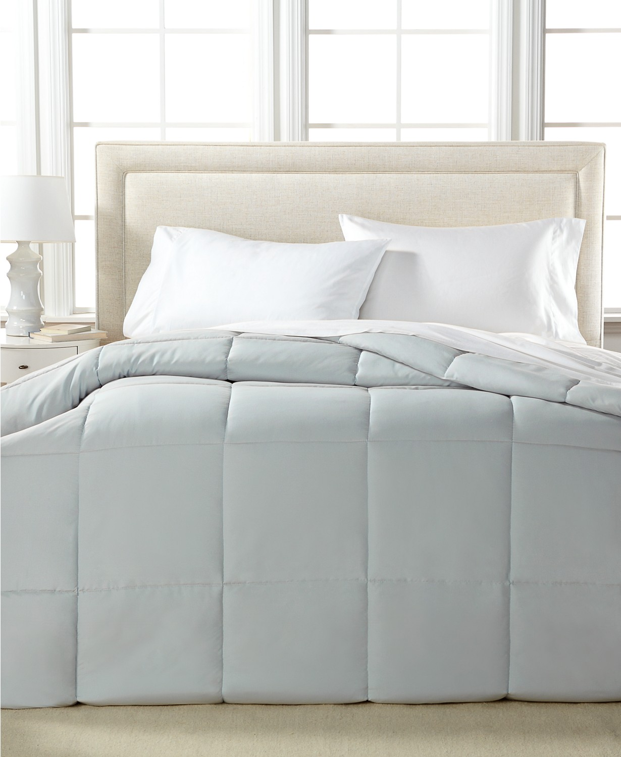 Blue Ridge Home Fashions Microfiber Down Twin Size Alternative Comforter