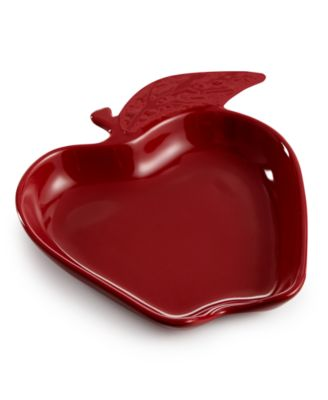 Martha Stewart Collection Figural Apple Spoon Rest, Only at Macy's