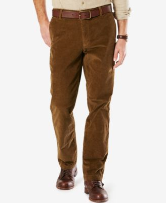 Image of Dockers® Straight Fit Washed Corduroy Pants