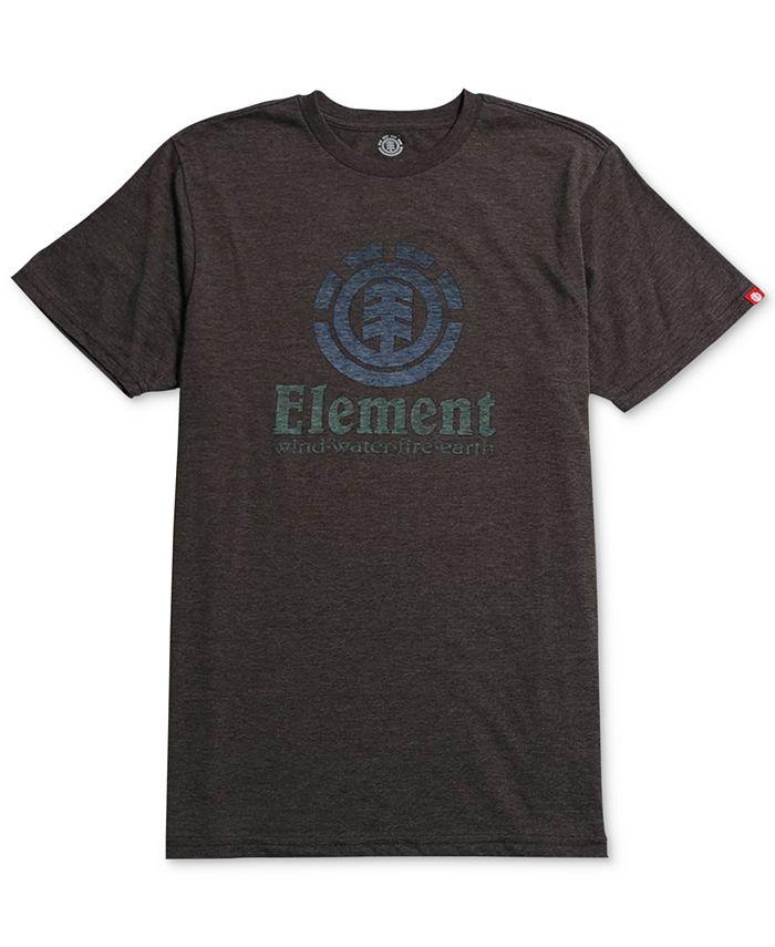 Element - Men's Vertical Push Graphic-Print Logo T-Shirt