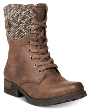 White Mountain Raymond Lace-Up Hiking Boots Women's Shoes
