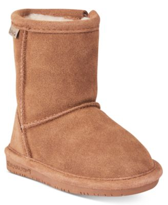 BEARPAW Emma Zip Boots, Toddler Girls