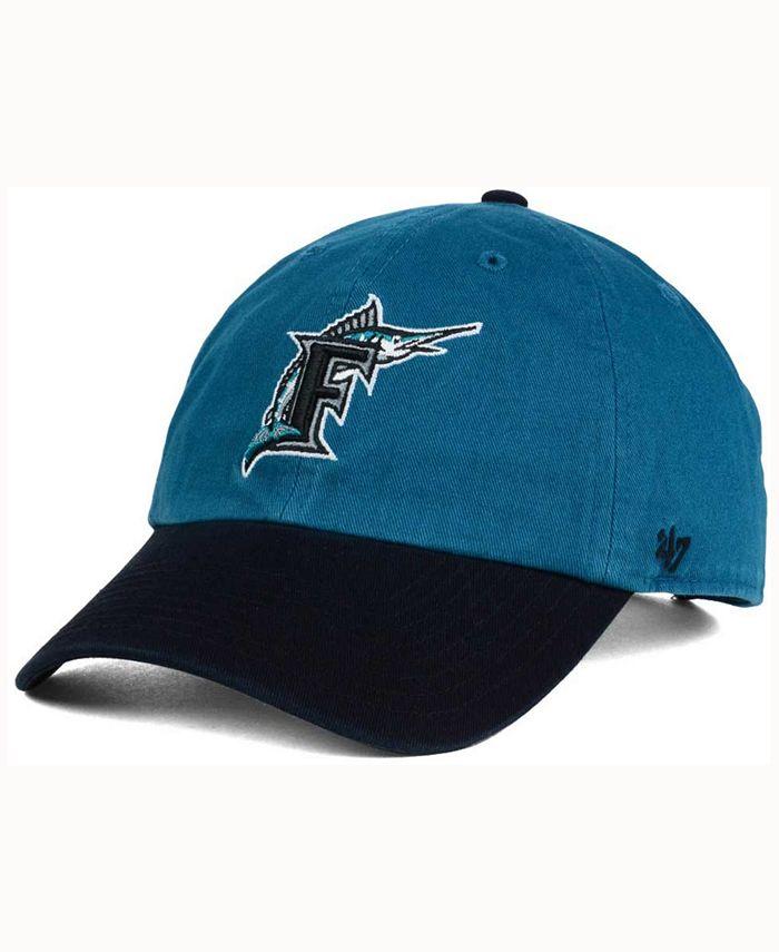 '47 Brand - Florida Marlins Cooperstown CLEAN UP Cap