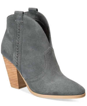 Report Doman Western Ankle Booties Women's Shoes