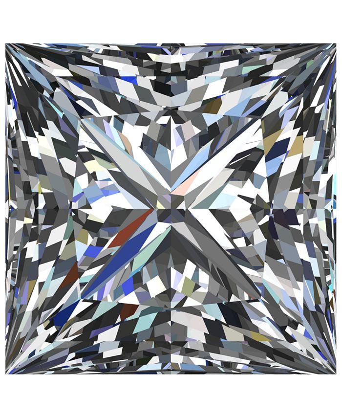 Macy's - GIA Certified Diamond Princess (1 ct. t.w.)