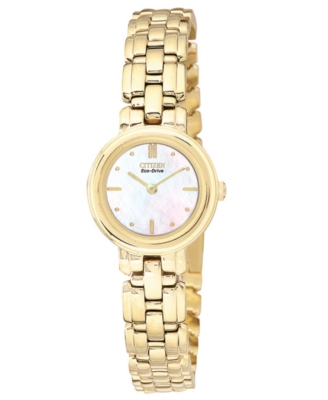 Citizen Women's Eco-Drive Goldtone Stainless Steel Bracelet Watch