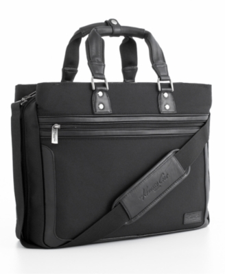 Kenneth Cole Stanford Nylon Triple Gusset Ladies Portfolio/Computer Case