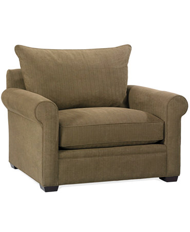 Dial Fabric Microfiber Living Room Chair Furniture Macy 39 S
