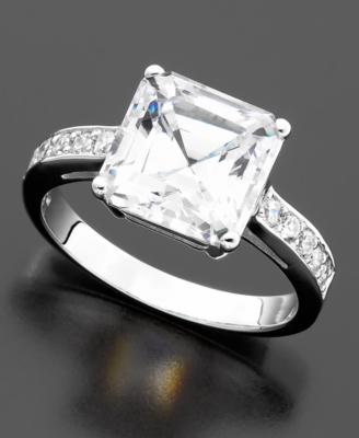 CRISLU Princess-Cut Cubic Zirconia Ring (6 ct. t.w.)