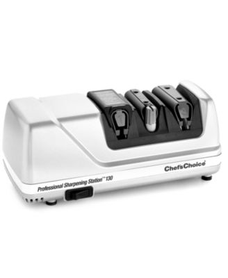 Chef's Choice 130 Knife Sharpener, 3 Stage Professional Electric