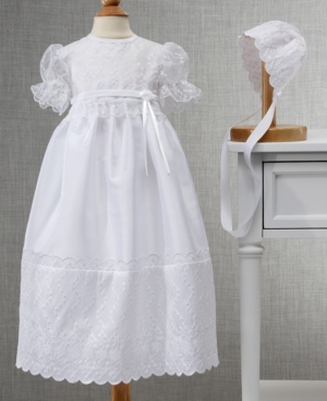 Cherish the Moment Embroidered Shantung Gown