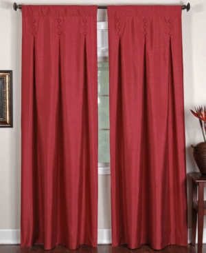 "elrene window treatments, imperial 26"" x 95"" panel bedding"