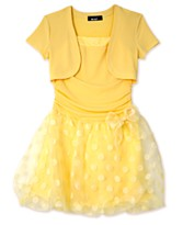 BCX Girls Bubble Rumba Dress
