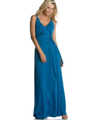 Calvin Klein Matte Jersey Maxi Dress