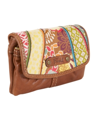 Fossil Handbag, Talita Double Pouch Clutch - Clutches