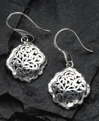 LOIS HILL Sterling Silver Drop Earrings