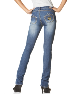 Apple Bottoms Skinny Apple Pocket Jeans, Dream Wash - Apple Bottoms