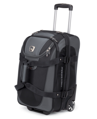 High Sierra A.T.GO Carry-On Drop-Bottom Duffel