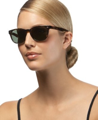 Ray-Ban Wayfarer Sunglasses with Keyhole Bridge