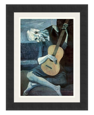 Amanti Art The Old Guitarist Framed Art Print by Pablo Picasso