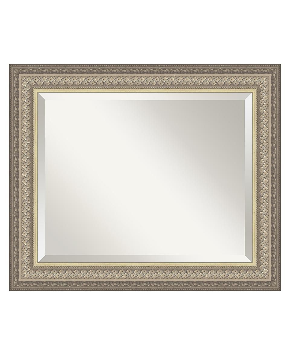 Amanti Art Paramount Silver Wall Mirror