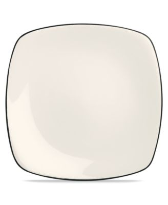 Noritake Dinnerware, Colorwave Graphite Square Dinner Plate