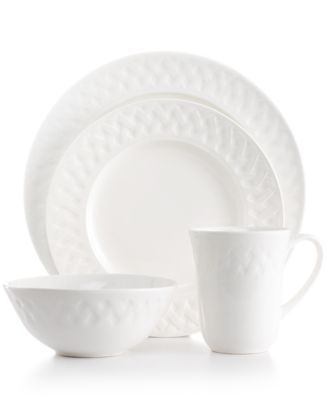 Martha Stewart Collection Dinnerware, French Cupboard 16 Piece Set