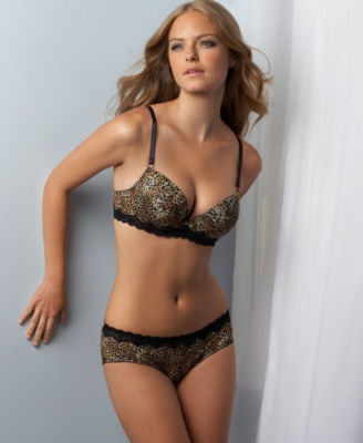 Jezebel Bra, Animal Attraction Seamless Push Up - Pajamas & Intimates