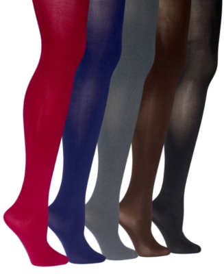 Hue Basic Control Top Opaque Tights