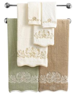 "Avanti Bath Towels, Venetian Scroll 16"" x 30"" Hand Towel"
