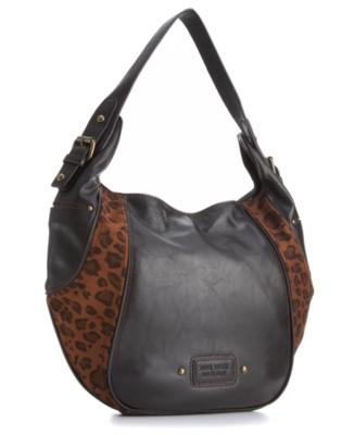 Leather Hobo Bag - Nine West